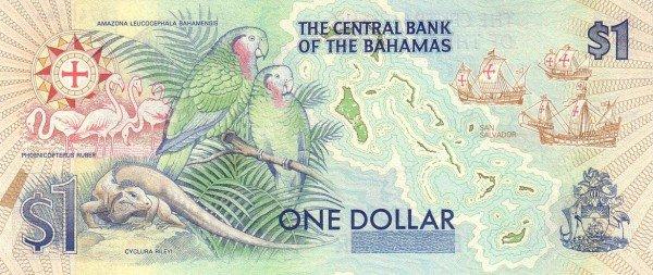 Реверс багамского доллара