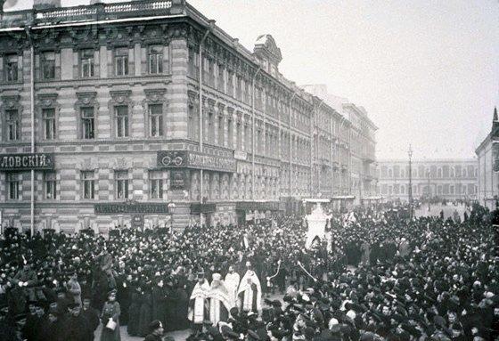 Похороны Петра Ильича Чайковского в Санкт-Петербурге, 1893 год