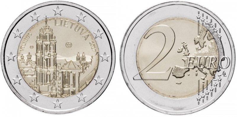 """""""Вильнюс"""". 2017 год. Монетный двор: Вильнюс"""