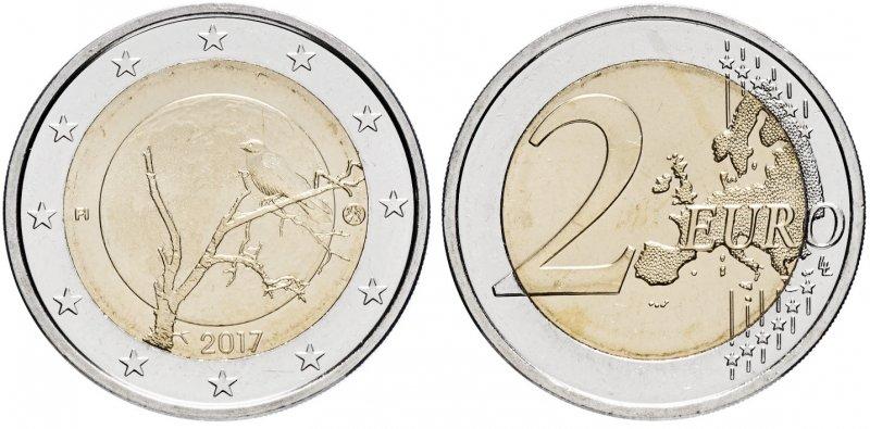 """""""Финская природа"""". 2017 год. Монетный двор: Вантаа (Финляндия)"""