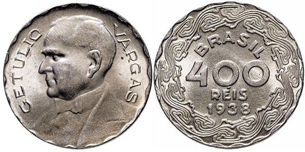 400 реалов 1938 г.