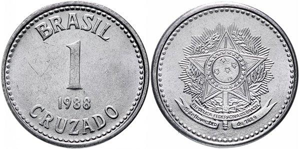 1 крузадо 1988 г.