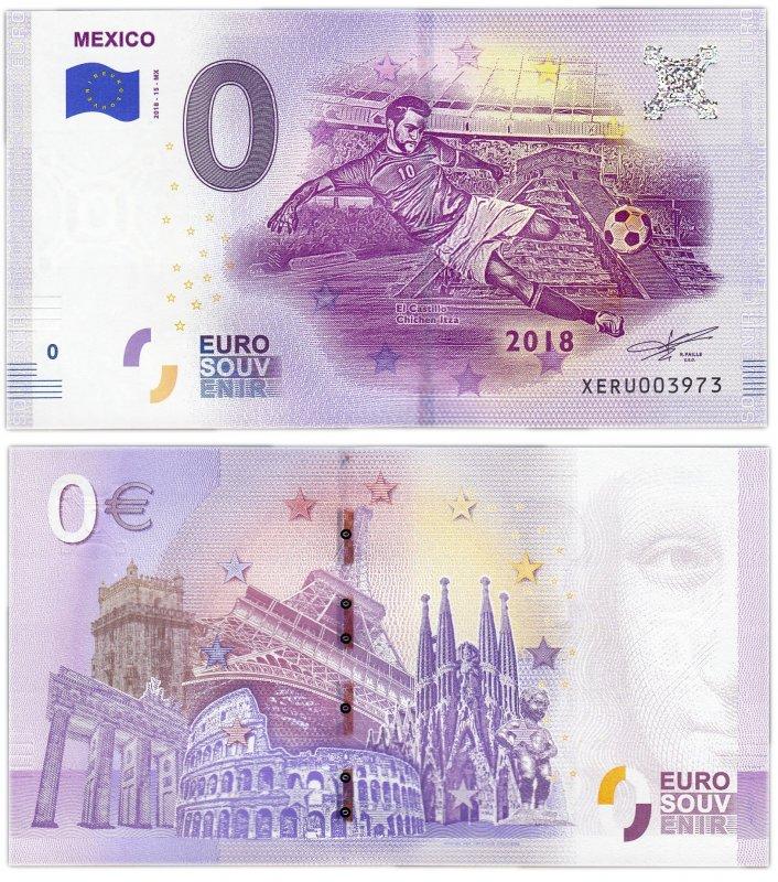 0 евро (2018) Мексика