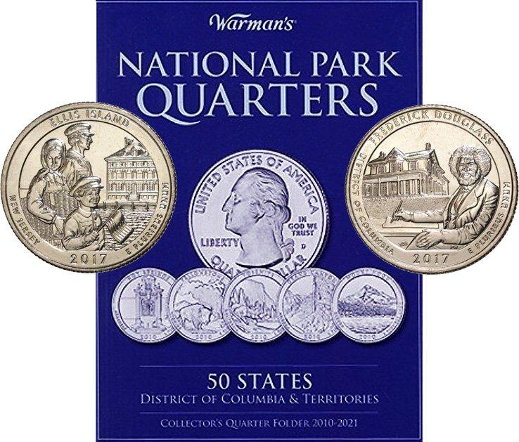 Альбом для монет «Национальные парки США»