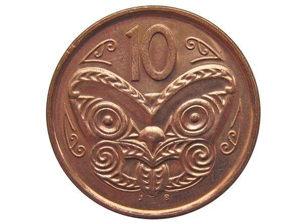 10 центов, реверс