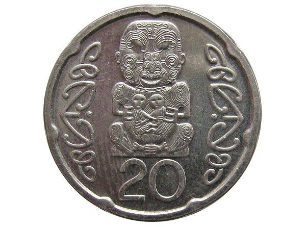 20 центов, реверс