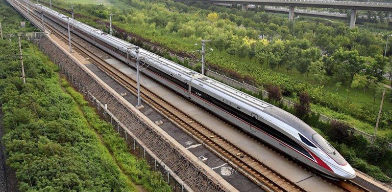 Высокоскоростной китайский поезд Фусин