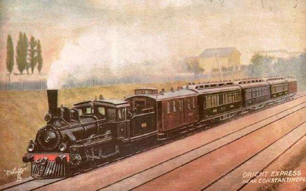 Первое отправление поезда «Восточный экспресс»