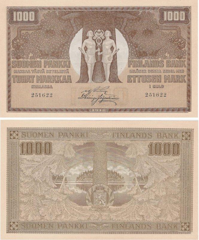 1000 марок 1918