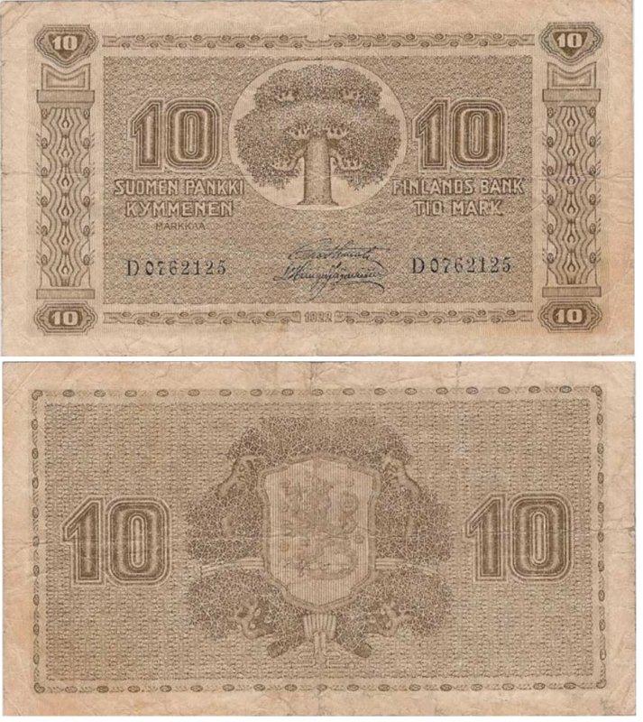 10 марок 1922