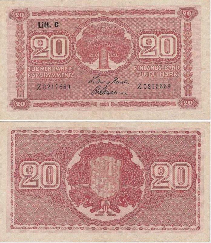 20 марок 1922