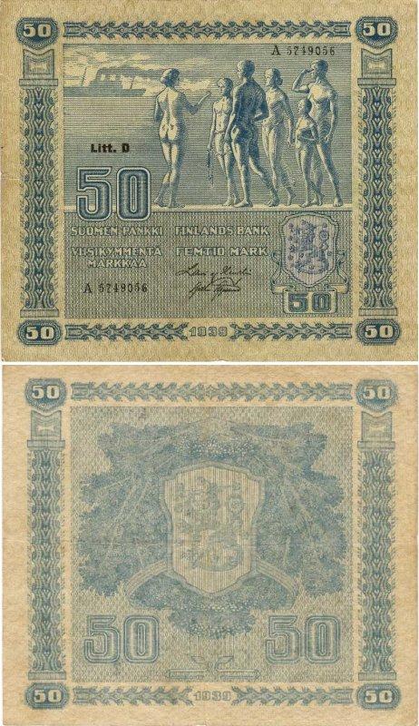 50 марок 1939
