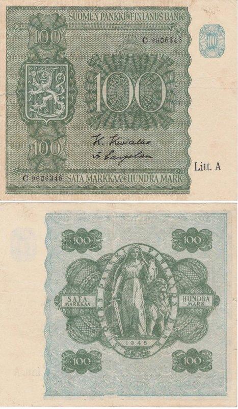 100 марок 1945