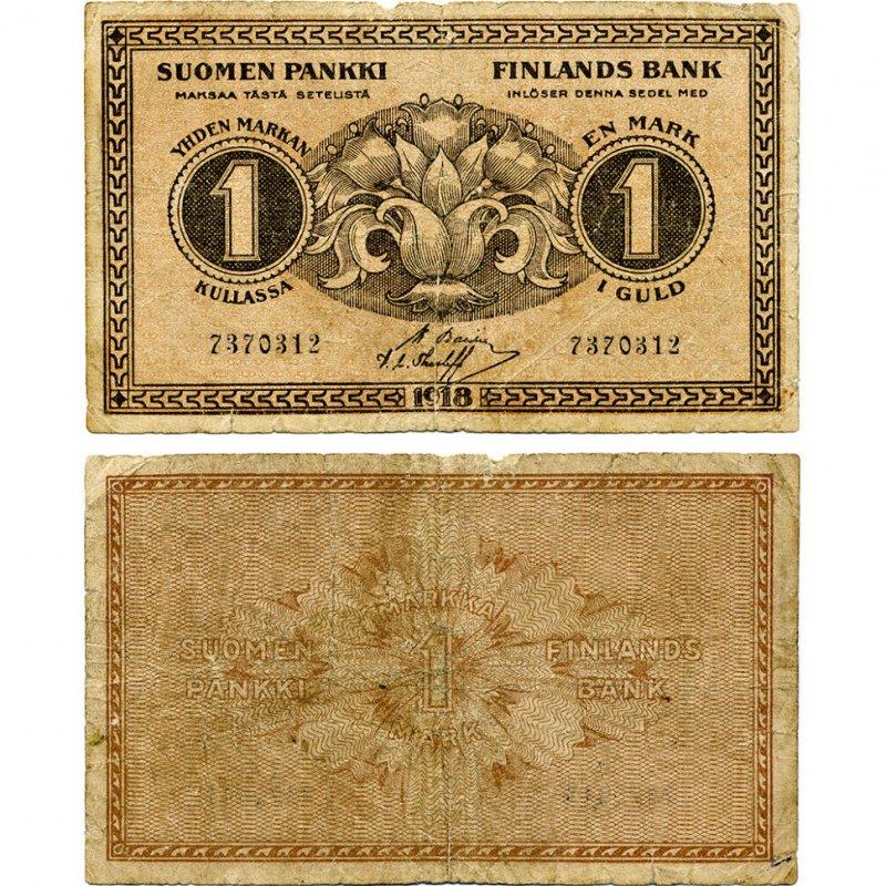 1 марка 1918