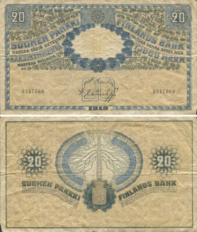 20 марок 1918