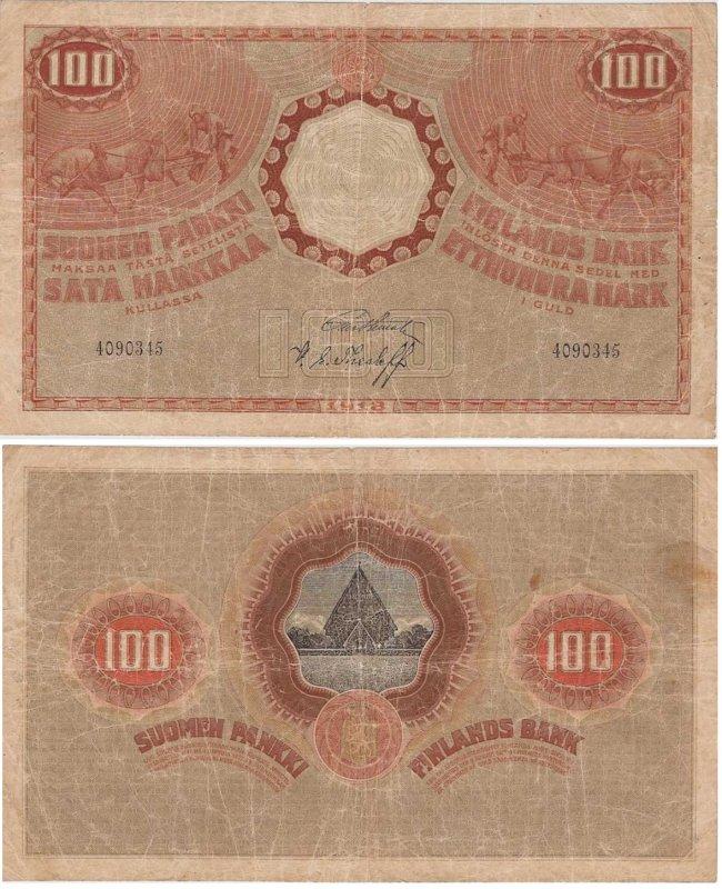 100 марок 1918