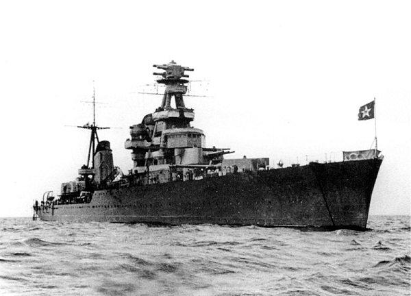 Крейсер «Киров» за несколько недель до начала войны. 1941 год