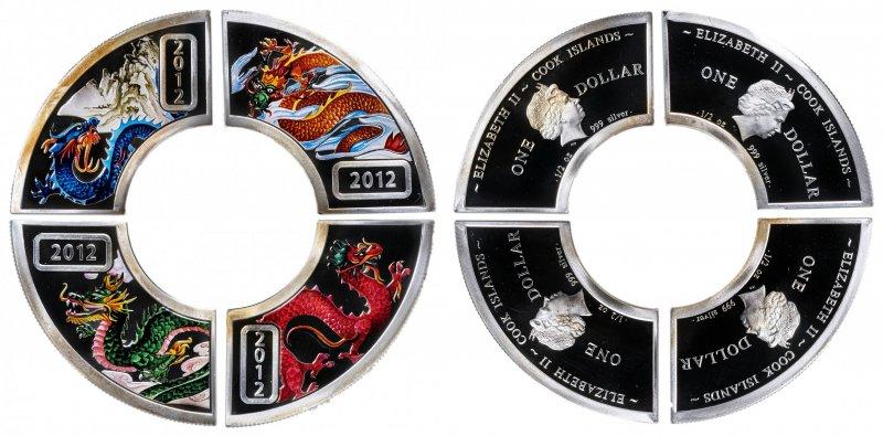 Комплект монет Островов Кука