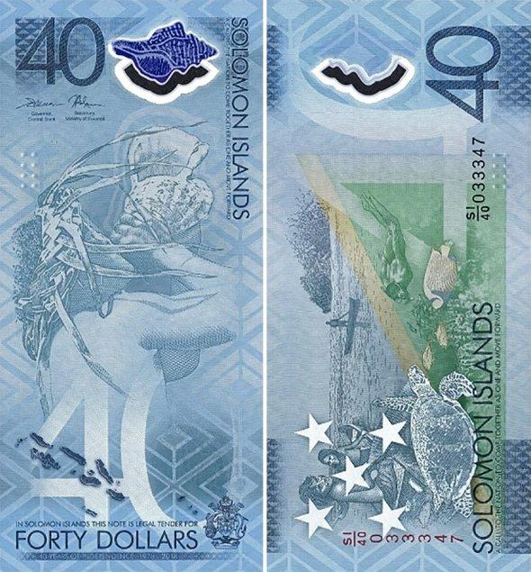 40 долларов 2018 года, Соломоновы острова
