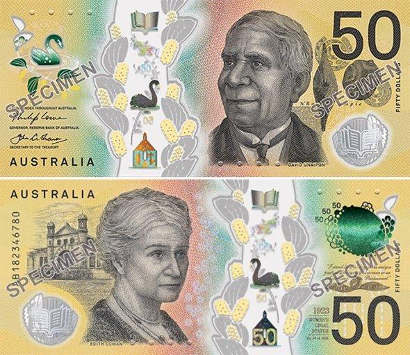 50 долларов 2018 года, Австралия