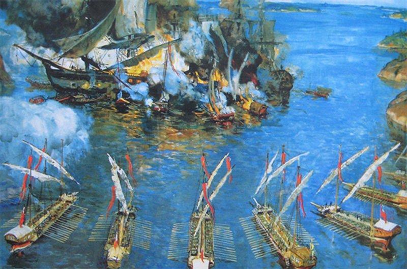 Морская битва у мыса Гангут