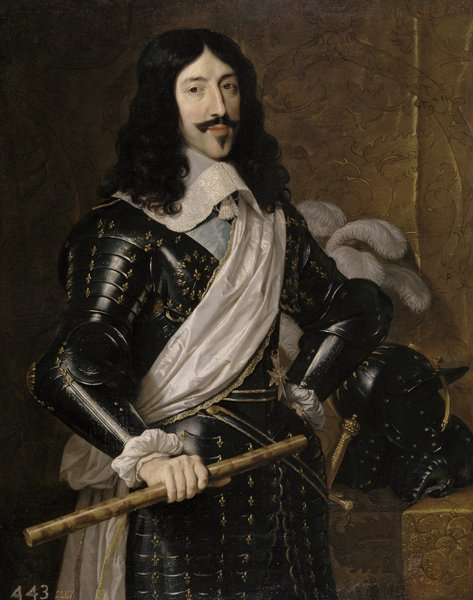 Король Франции Людовик XIII