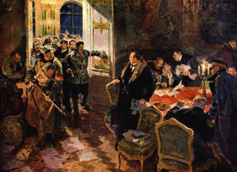 Арест Временного правительства (Лопухов А.М., 1957)