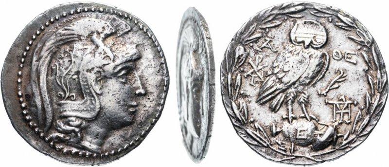 Тетрадрахма, Аттика, Афины, 165-42 годы до н.э.