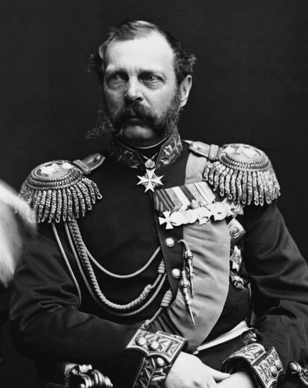 Александр II. Фотография 1870-х гг.