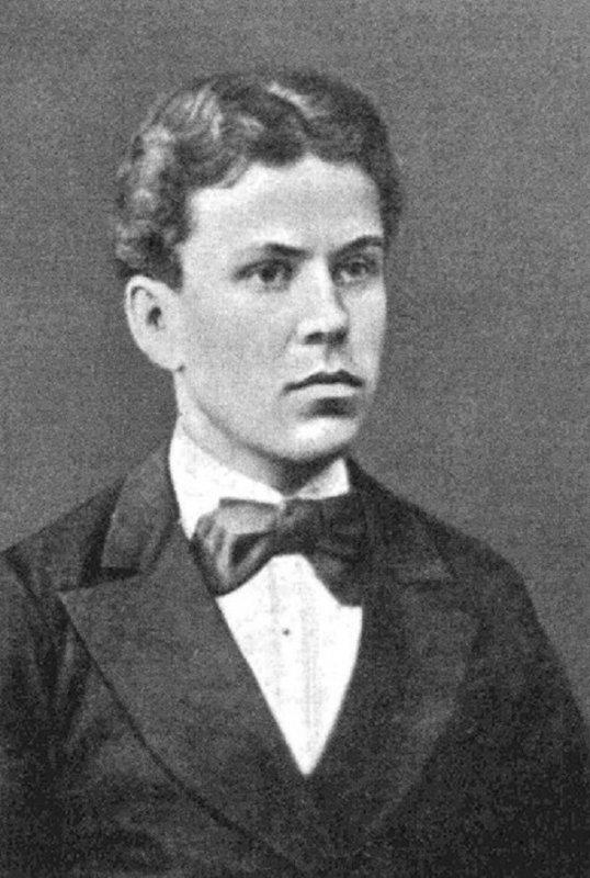 Народоволец Игнатий Гриневицкий (1856-1881 гг), бросивший бомбу в Александра II 1 марта 1881 года