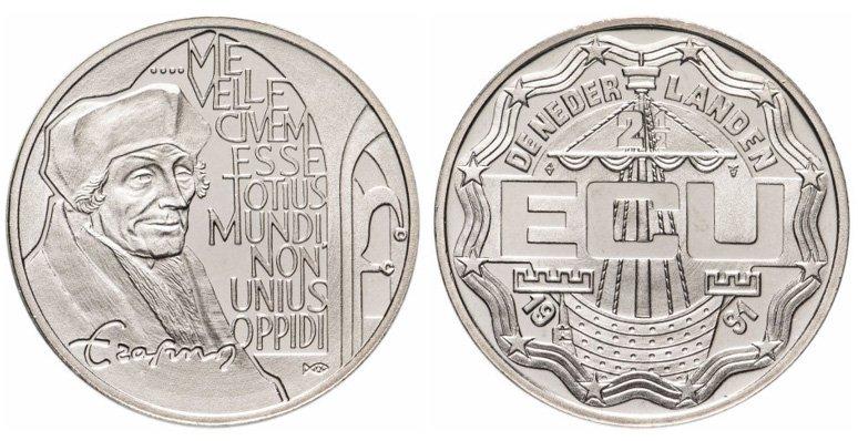 2½ ЭКЮ (сувенирная монета)