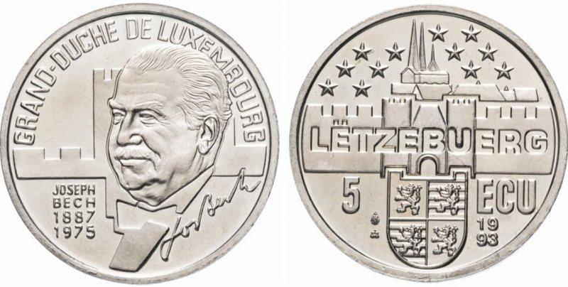 5 ЭКЮ (сувенирная монета)