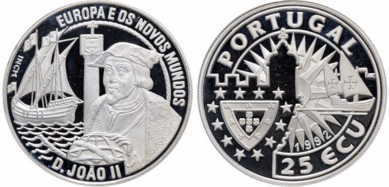 25 ЭКЮ (сувенирная монета)