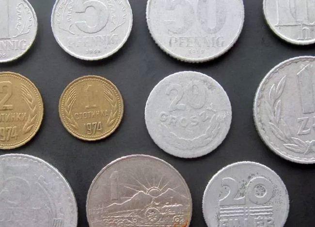 Обиходные монеты стран соцлагеря