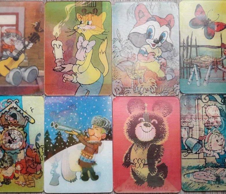 Календари со сменой изображения