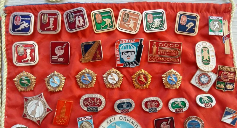 Подборка значков на спортивную тему