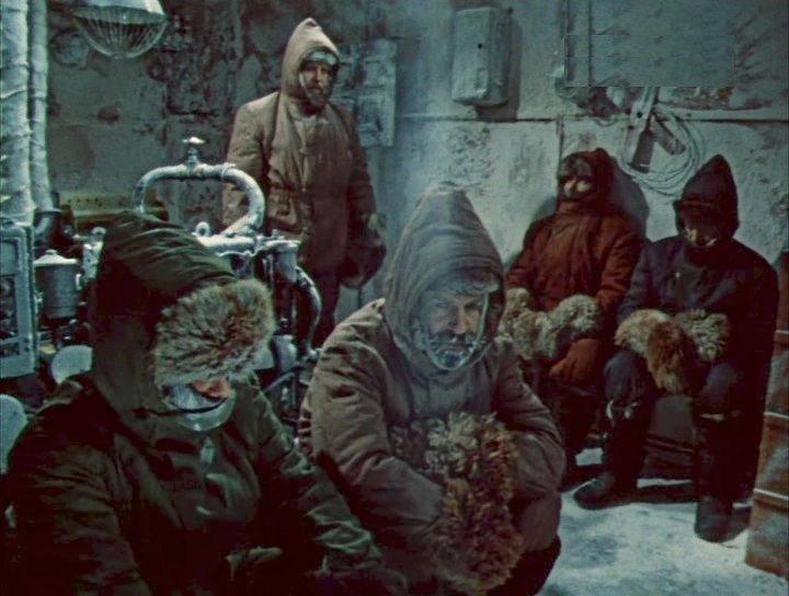 Кадр из телефильма «Антарктическая повесть», режиссер Сергей Тарасов, 1979 год