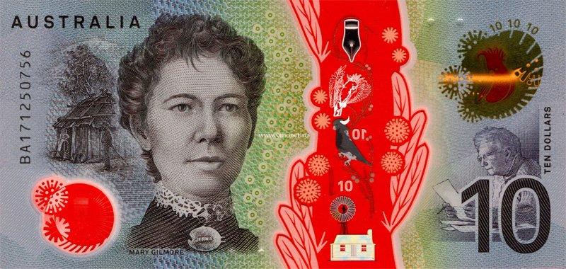 10 долларов Австралии