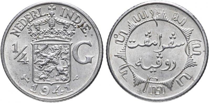 Четверть гульдена Голландской Ост-Индии (1941)