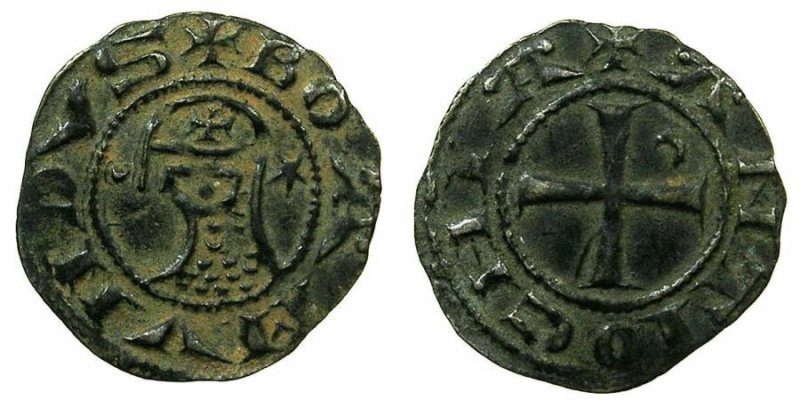 Денье из Антиохии (XIII век)