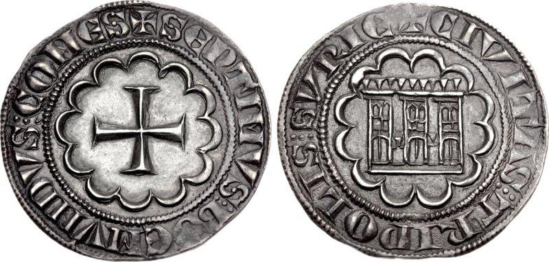 Грош из Триполи (1275-1287)