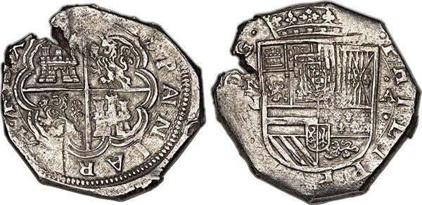 Макукин 8 реалов 1622 года