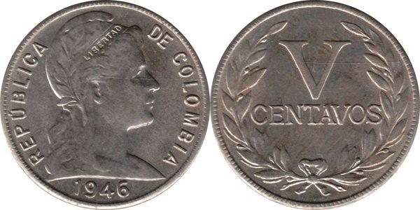 5 сентаво 1946 года (1918-50 гг.)