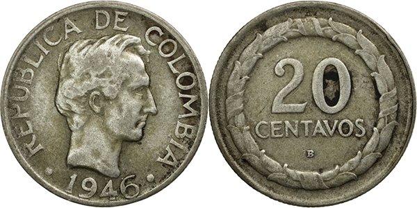 20 сентаво 1946 года