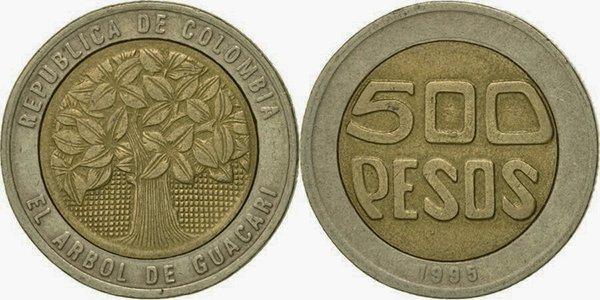500 песо 1995 года