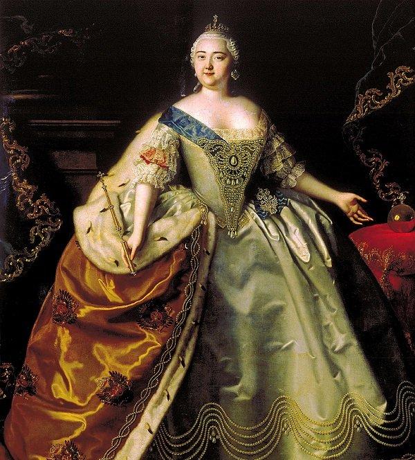 Луи Каравак. Императрица Елизавета Петровна. 1750 год