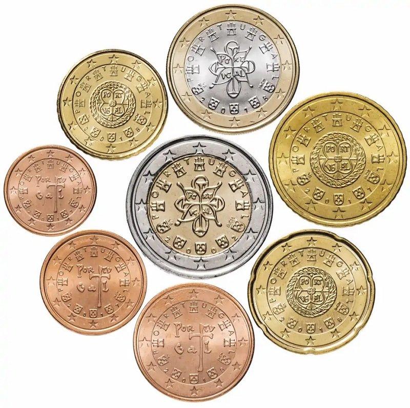 Монеты евро Португалии, национальная сторона