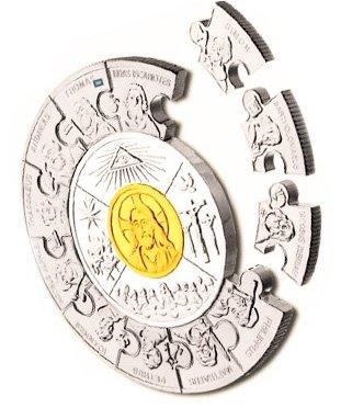 Монета-пазл