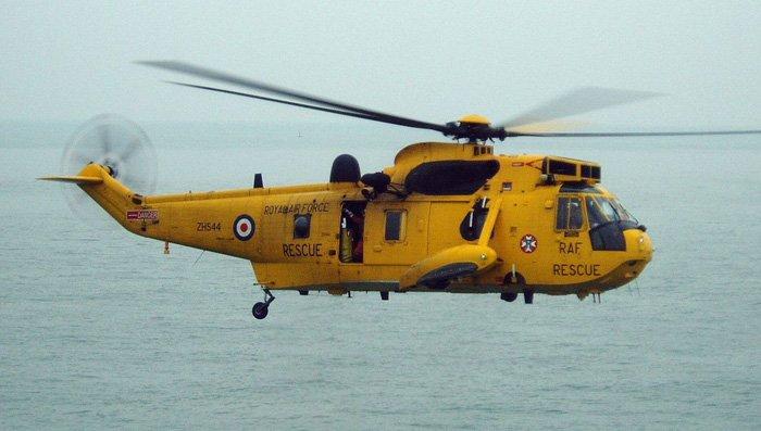 Вертолёт британских ВВС Sea King (Морской король)
