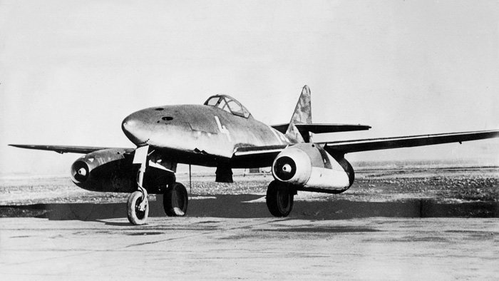 Турбореактивный самолёт Messerschmitt Me.262